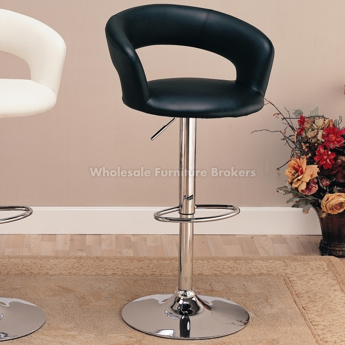 Black Adjustable Bar Stool Coaster Company with The Most Amazing  coaster bar stools intended for Household