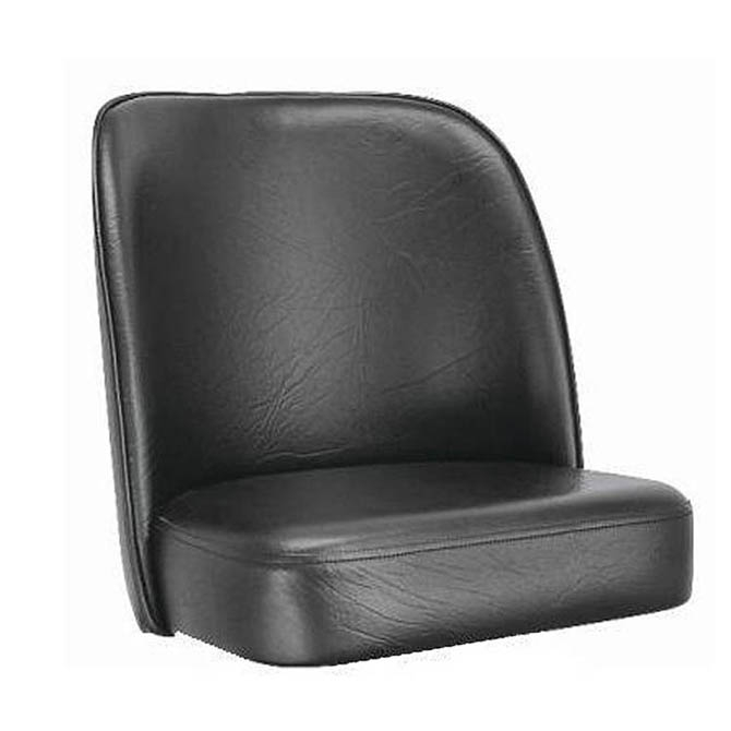 Black Bar Stool Seat For Bucket Style Bar Stool for Bar Stool Seats