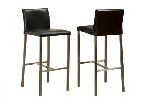 Black Leather Bar Stools With Backs Seat Furniture Bar Chairs inside The Most Amazing  bar stools with backs intended for Your home