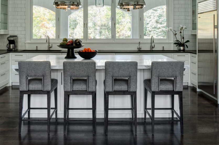 Black Orchid Luxury Bar Stools intended for Luxury Bar Stools