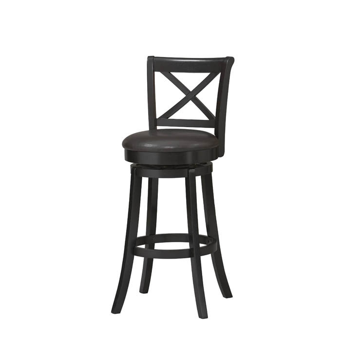 Black Swivel Bar Stools With Back Home Design Ideas throughout black swivel bar stools with back pertaining to Comfortable