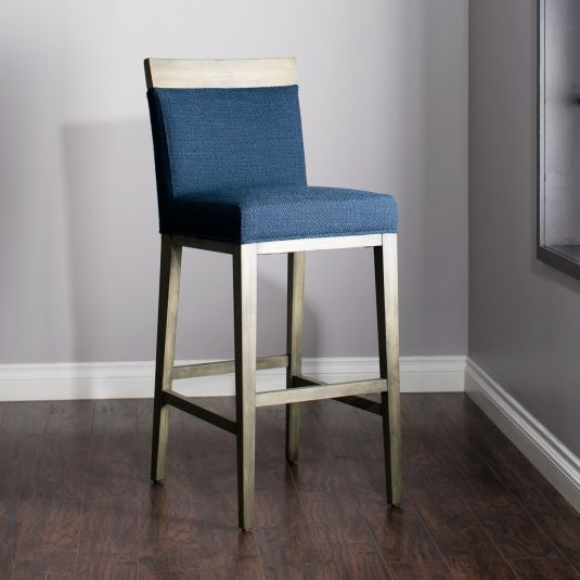 Blue Bar Stool Blue Counter Stool Jerome39s Furniture with Blue Bar Stool