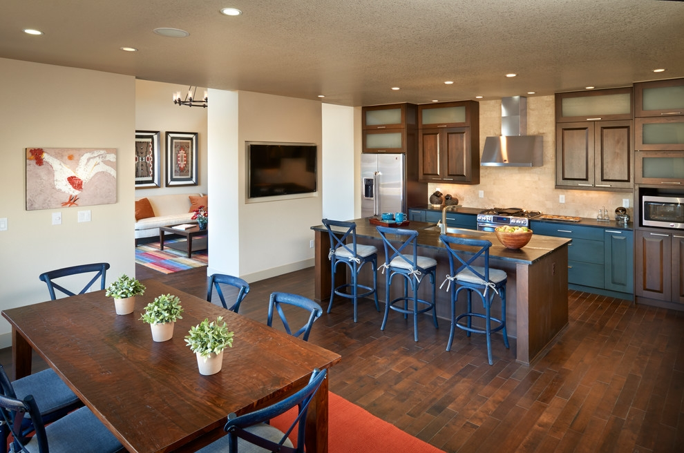 Blue Bar Stools Kitchen Transitional With Blue Bar Stools regarding blue bar stools intended for Comfy