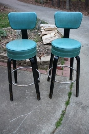 Blue Swivel Bar Stools Foter with Teal Bar Stools