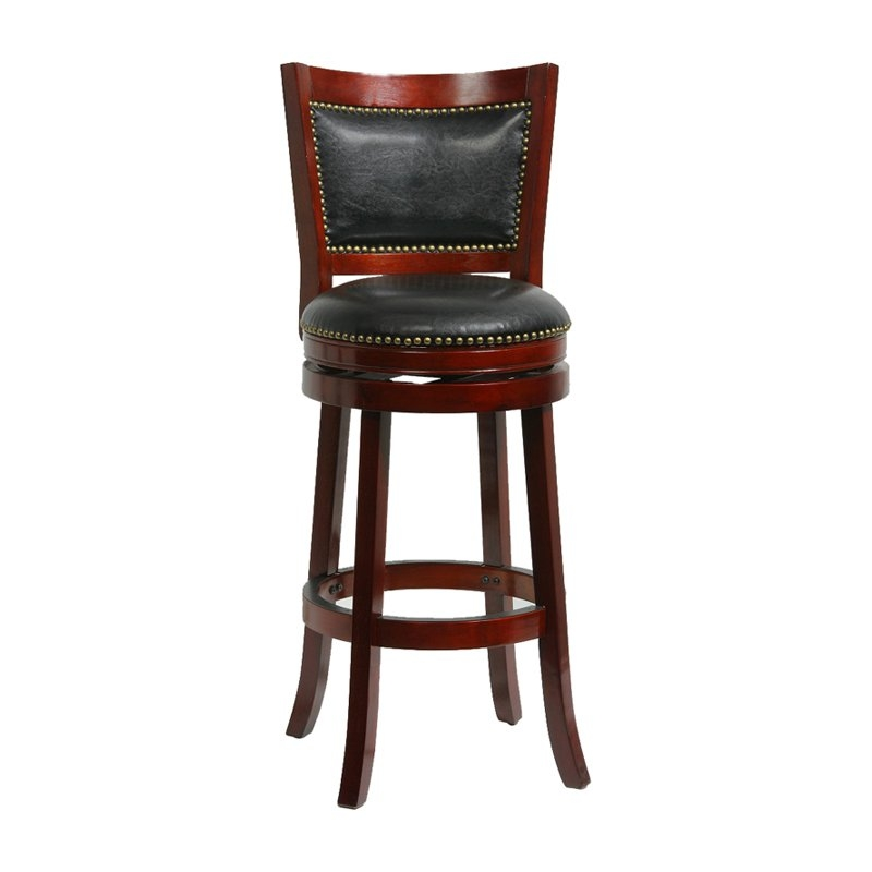 Boraam Augusta 29 In Swivel Bar Stool Bar Stools At Hayneedle with boraam bar stools intended for Your own home