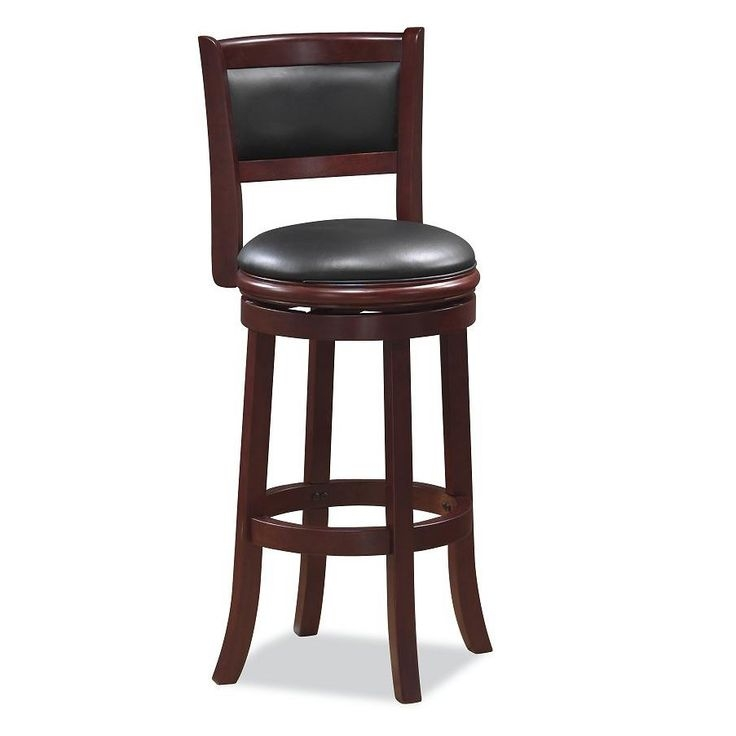 Boraam Industries Augusta Swivel Bar Stool Classy Bar Stools with regard to Augusta Swivel Bar Stool