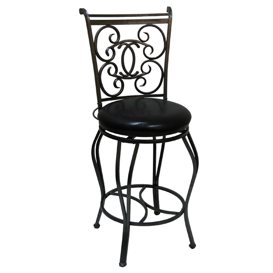 Boraam Industries Barstools inside Black Metal Bar Stools Swivel