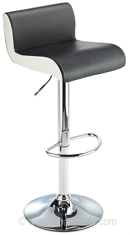 Bostonblackfrontcrop44368zoom with black and white bar stools intended for Your home