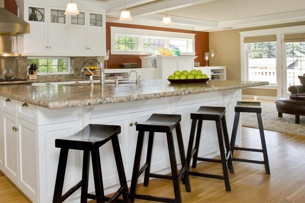 Breakfast Bar Stools How To Redesign Your Kitchen On A Budget throughout Brilliant  breakfast bar stools pertaining to The house