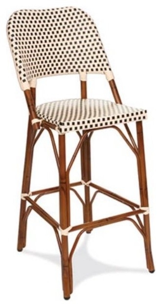 Brilliant French Bistro Bar Stool French Bistro Bar Stools Rattan throughout woven bar stools for Inspire