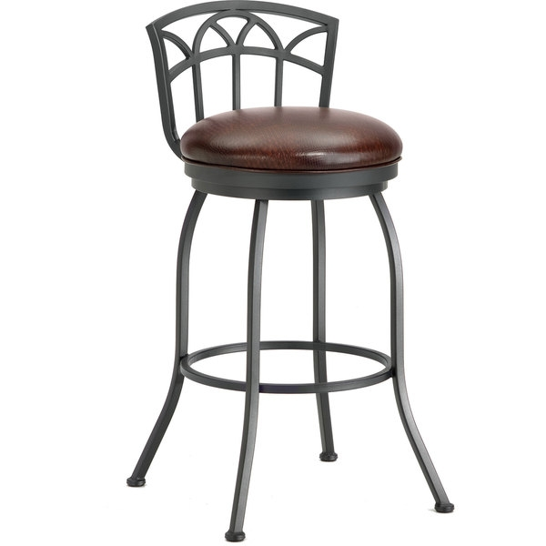 Brilliant Low Back Bar Stool Wicker Counter Stool With Low Back intended for Low Back Swivel Bar Stools