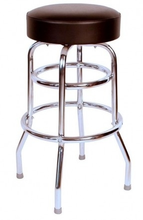 Brushed Nickel Bar Stools Foter intended for The Incredible in addition to Attractive brushed nickel bar stools regarding Your property