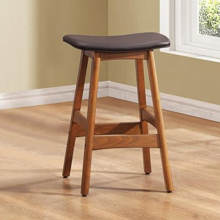 Buy Beech Wood Counter Stools 24quot Set Of 2 White And Natural In with regard to Beechwood Bar Stools
