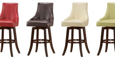Buy Brooks Swivel Bar Stool In Red Color Steve Silver From Www with regard to Red Swivel Bar Stools