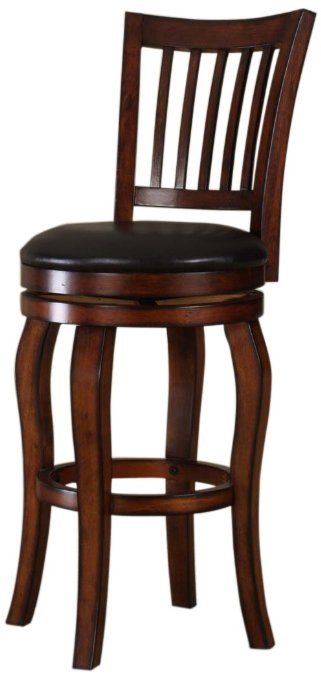 Buy Roundhill Solid Wood Swivel Bar Stools With Back 24 Inch in bar stools 24 inch swivel intended for Your home