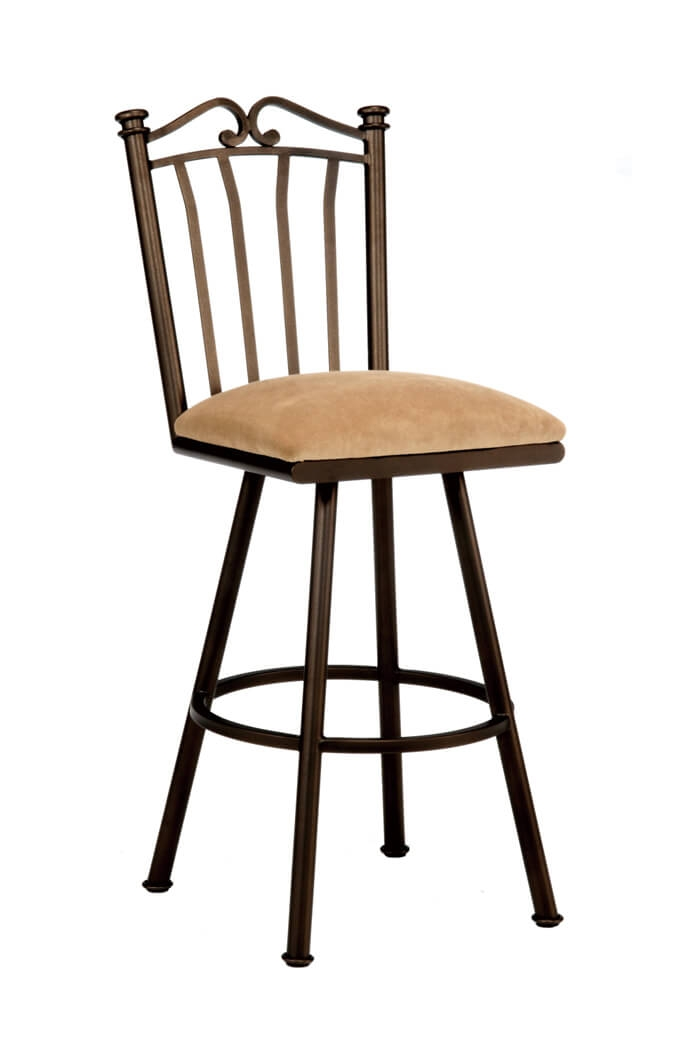 Callee Sunset Swivel Barstool 24 26 30 34quot inside Tempo Industries Bar Stools