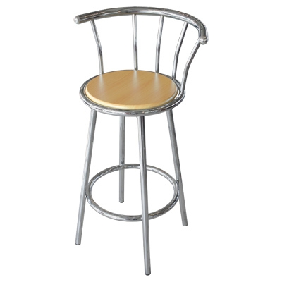 Chairs Amp Bar Stools Gems Nfx with regard to Stylish  chrome bar stool with regard to Your property