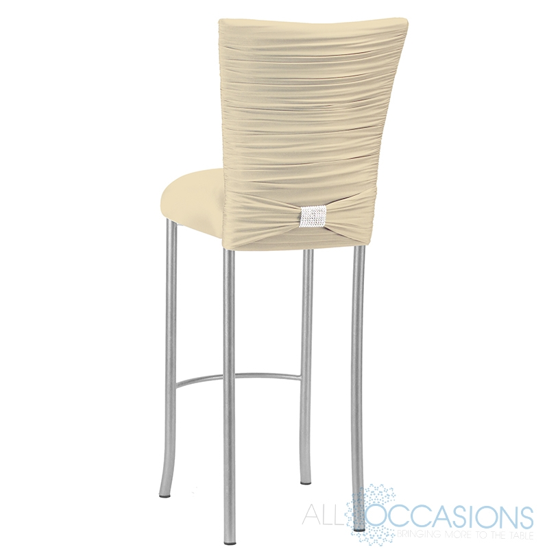 Chameleon Champagne Barstool All Occasions Party Rental pertaining to The Brilliant as well as Gorgeous bar stool cover with regard to House