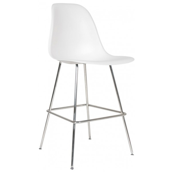 Charles Eames Style Bar And Counter Stools intended for Eames Bar Stool