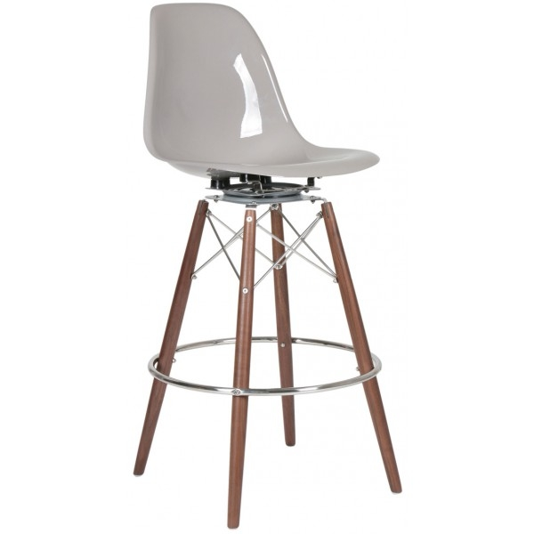 Charles Eames Style Bar And Counter Stools with Eames Bar Stool