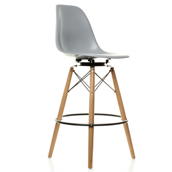Charles Eames Style Dsw Fibreglass Barstool Swiveluk pertaining to Eames Bar Stool