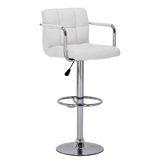 Chic White Leather Bar Stool White Leather Bar Stools Foter with The Most Incredible along with Interesting white leather bar stool for House