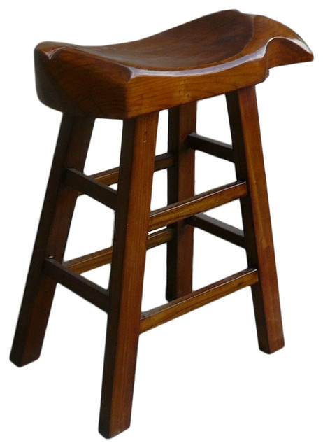 Chinese Fish Shape Seat Tall Wooden Stool Craftsman Bar Stools within Awesome  craftsman bar stool intended for The house