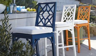 Chinoiserie Barstool Traditional Bar Stools And Counter Stools intended for The Incredible and also Attractive navy blue bar stools intended for Household