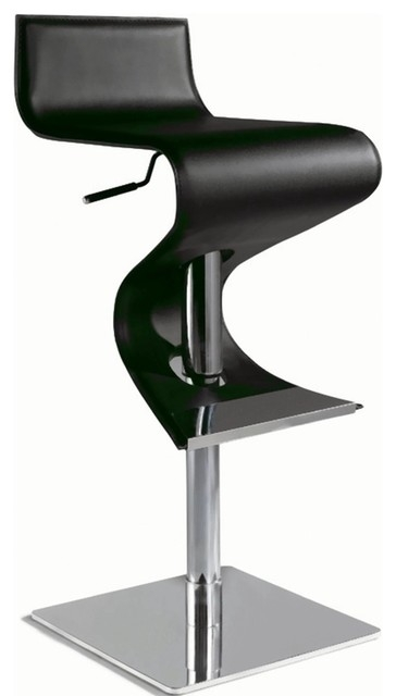 Chintaly Pneumatic Gas Lift Adjustable Height Swivel Stool throughout chintaly bar stools with regard to Inspire