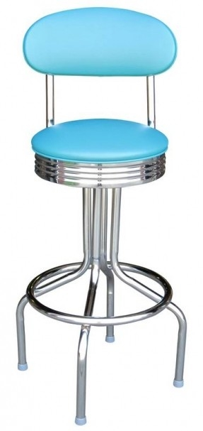 Chrome Swivel Bar Stools Foter with The Brilliant  chrome swivel bar stools pertaining to Your property