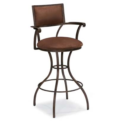 Clark Bar Stool Clark Collection From Bernhardt within metal and leather bar stools regarding Really encourage