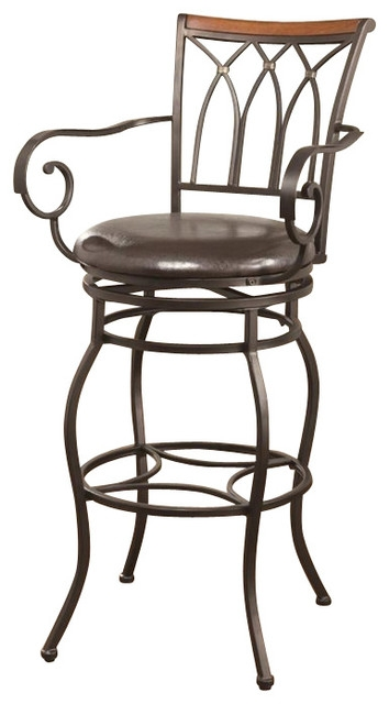Coaster 29 Inch Decorative Metal Barstool With Wood Trim pertaining to Brilliant as well as Interesting 29 inch bar stools pertaining to  Property