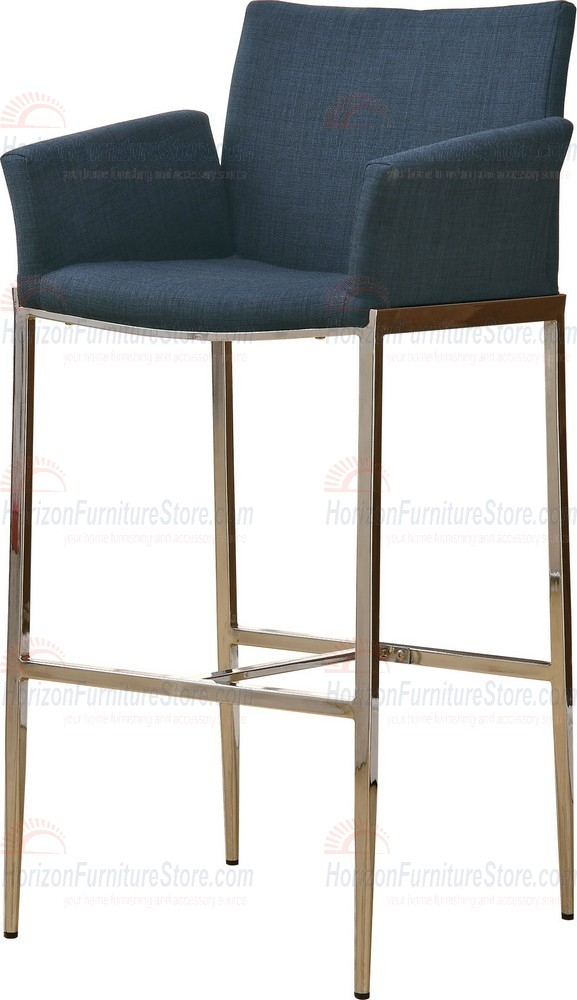 Coaster Furniture 120725c 29 Inch Stationary Bar Stool In Navy pertaining to The Incredible and also Attractive navy blue bar stools intended for Household