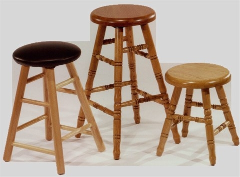 Commercial Grade Solid Oak Barstools for oak bar stools with regard to Residence