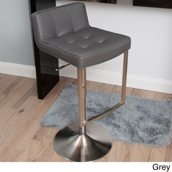 Construction Living Spaces And Bar Stools On Pinterest within Low Back Swivel Bar Stools