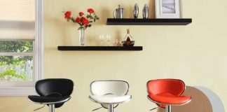 Contemporary Bar Stools And Counter Stools intended for Stylish  adjustable swivel bar stool intended for Your own home