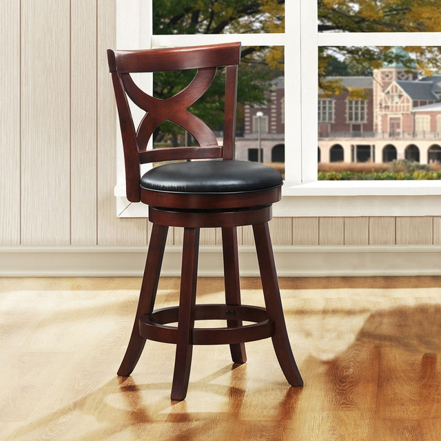 Contemporary Bar Stools And Counter Stools with 24 Inch Swivel Bar Stools With Back