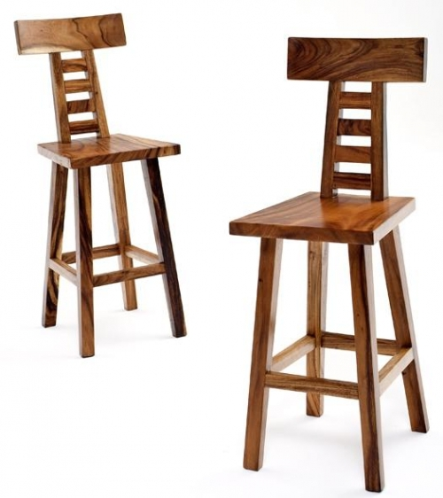 Contemporary Bar Stools Modern Rustic Bar Stools intended for wood bar stools with back intended for Desire