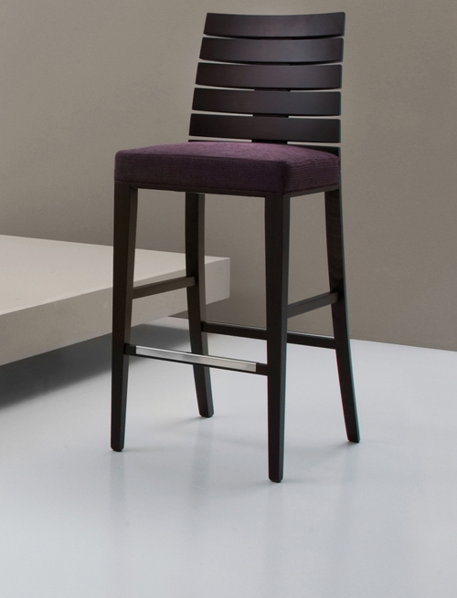 Contemporary Wooden Bar Stool inside aubergine bar stool with regard to Comfortable
