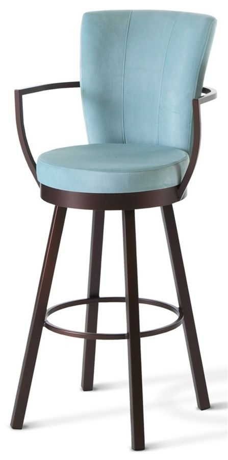 Counter Chair Stools And Wraps On Pinterest intended for Bar Stools Swivel With Back