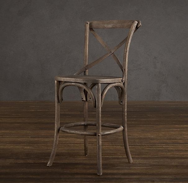 Counter Stools Stools And French On Pinterest regarding restoration hardware bar stools with regard to Property