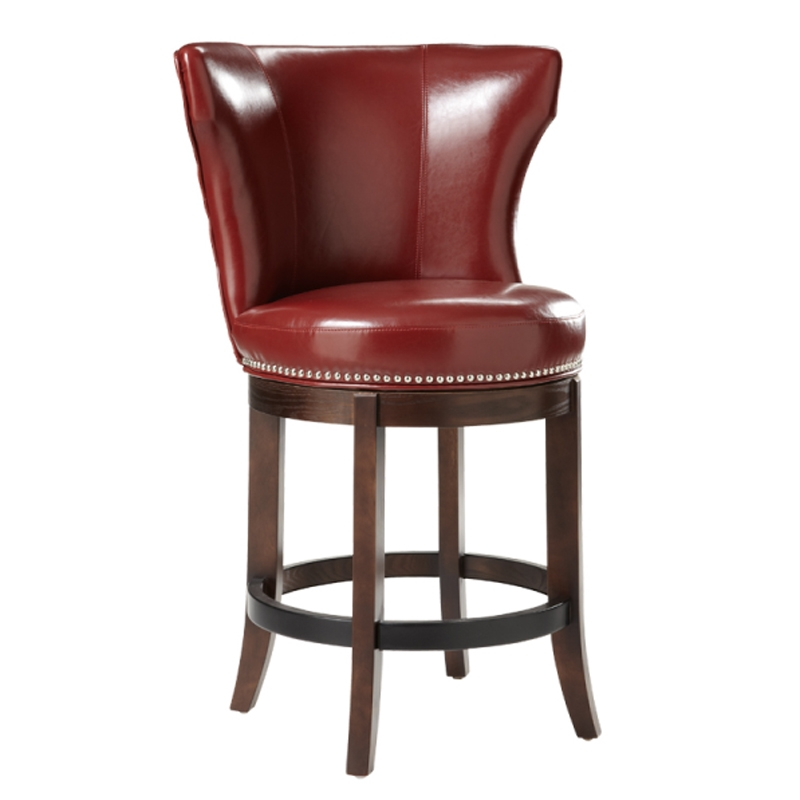 Counter Stools Swivel Red Leather Swivel Bar Stools Red Swivel in Red Swivel Bar Stools  sc 1 st  vhomez : red leather counter stools - islam-shia.org