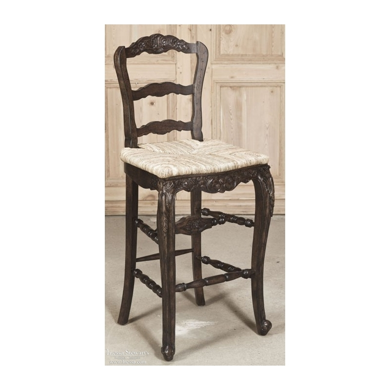 Country French Bar Stool Inessa Stewart39s Antiques for French Bar Stools