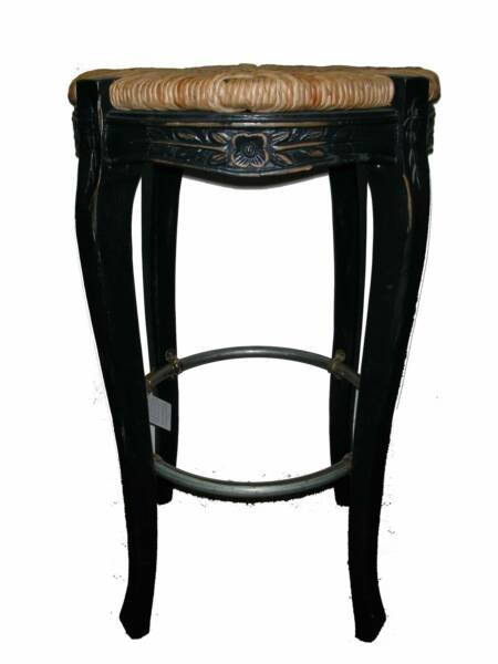 Country French Painted Wood And Wood Bar Stools On Pinterest inside french bar stools with regard to Household