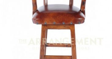 Cowboy Swivel Bar Stool Rustic Western Furniture Store within Rustic Swivel Bar Stools