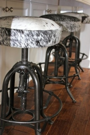 Cowhide Bar Stools Foter in The Most Brilliant and Lovely cowhide bar stools with regard to Household