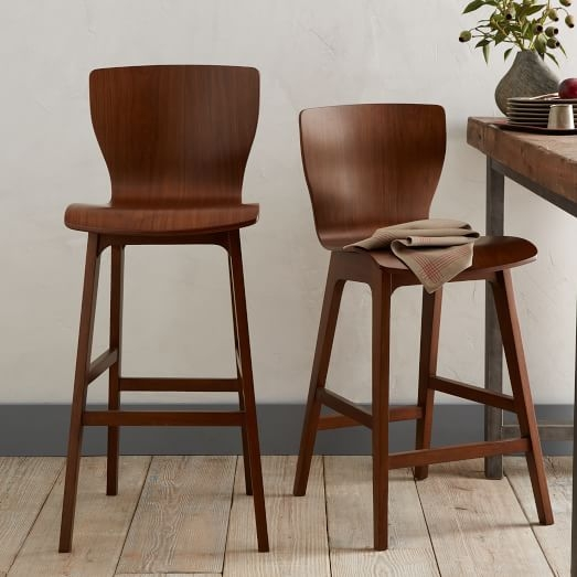 Crest Bentwood Bar Counter Stools West Elm pertaining to The Most Stylish  bentwood bar stools pertaining to Really encourage