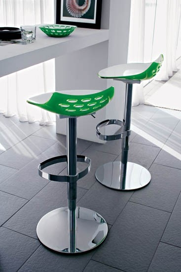 Cs1035 Jam Adjustable Bar Stool Calligaris Italy Italmoda within calligaris bar stools regarding  Home