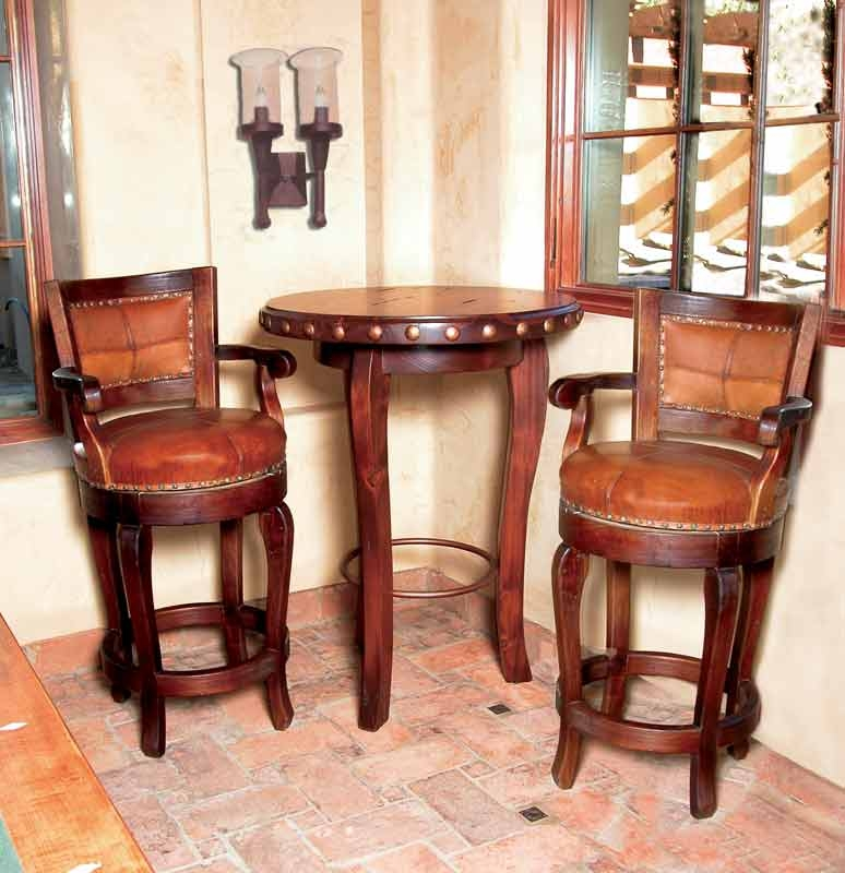 Custom Bar Stools Custom Bistro Tables Counter Stools Custom intended for Leather Swivel Bar Stools With Arms