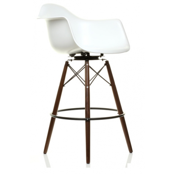 Daw Plastic Bar Stool With Swivel For 16500 In New Swivel Uk in Eames Bar Stool